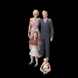 Famille Capp (Les Sims 3)
