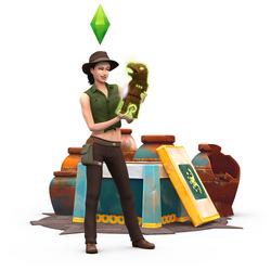 Les Sims 4 Dans la jungle Render 05