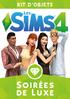 Packshot Les Sims 4 Soirées de Luxe