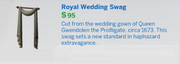Royal Wedding Swag