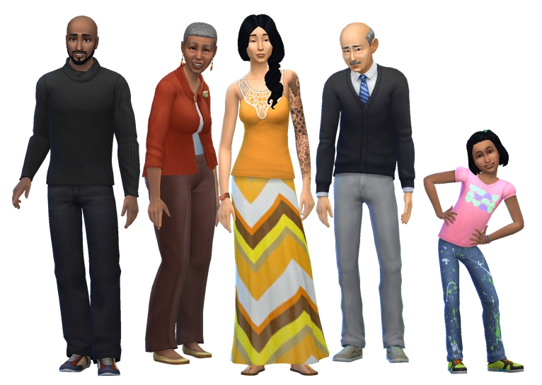 Spencer-Kim-Lewis family | The Sims Wiki | FANDOM powered by