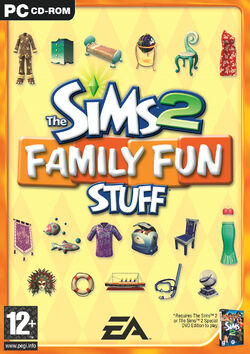 The Sims 2 Family Fun Stuff Cover