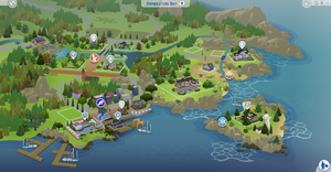 Brindleton Bay carte