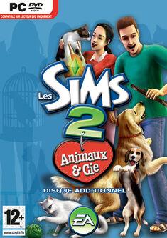 Jaquette Les Sims 2 Animaux & Cie