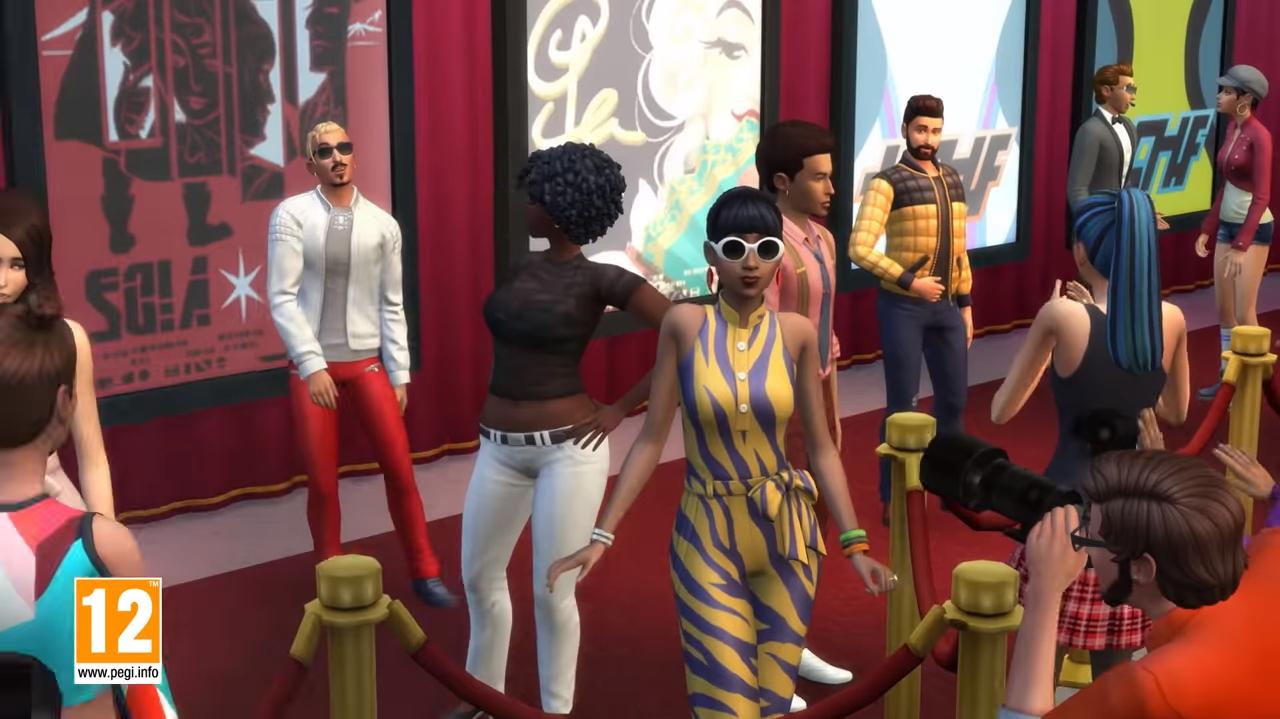 Ser una estrella en Los Sims
