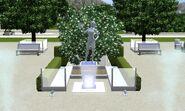 Pioneer of Plumbotics Legacy Statue