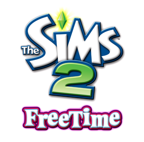 File:The Sims 2 FreeTime Logo.png