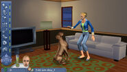 The Sims 2 Pets PSP Screenshot 02