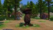 Granite Falls Camping Mascot