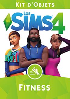 Packshot Les Sims 4 Fitness