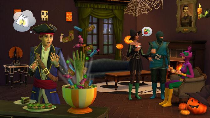 Sims 4 Escalofriante