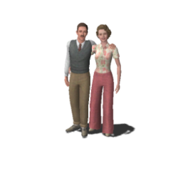 Thebe family (The Sims 3)