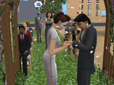 Toshiko Sakurako and Taro Sakurako wedding