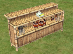 Ts2 beach party bar