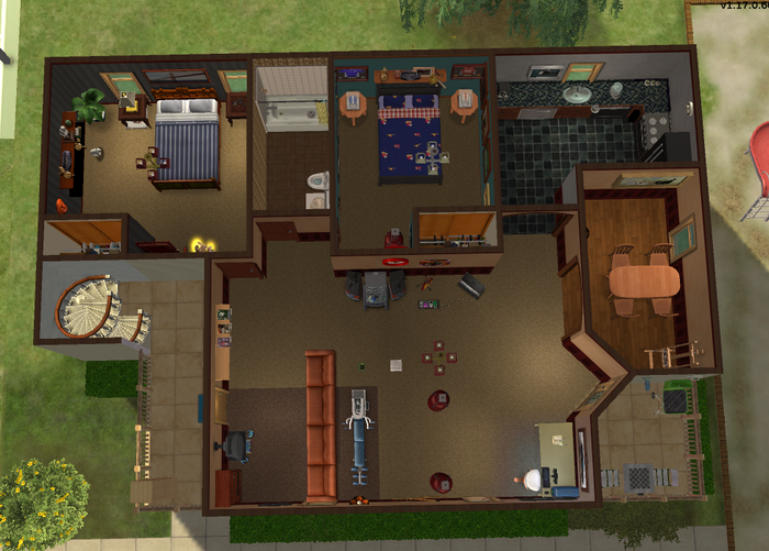 Urban family apartment