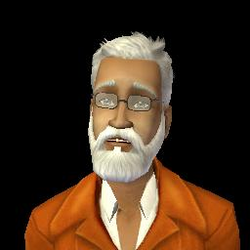 Achille Lalouche (Les Sims 2)
