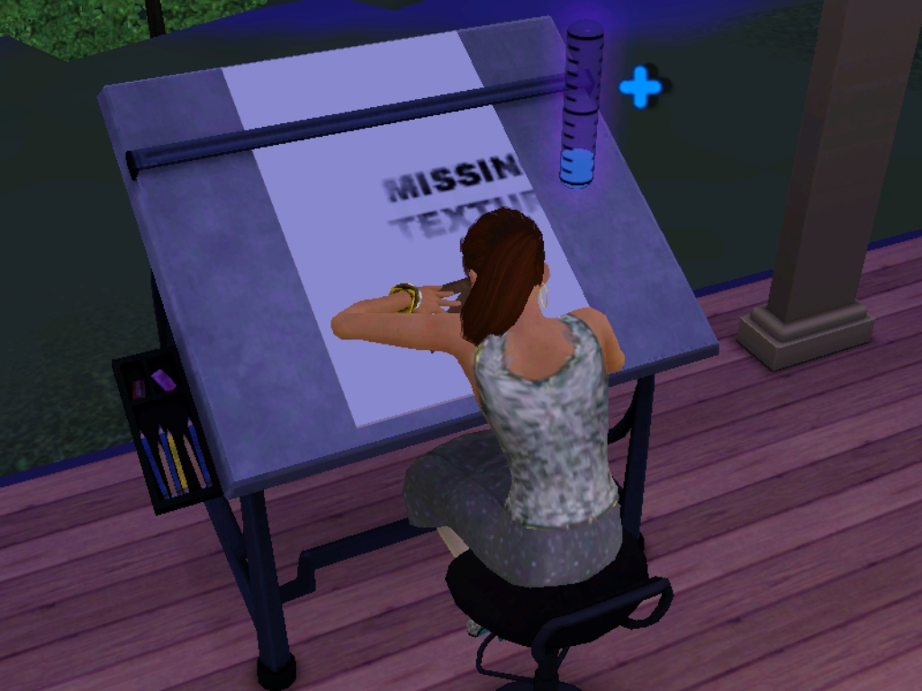 Drafting Table The Sims Wiki Fandom