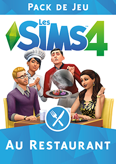 Packshot Les Sims 4 Au Restaurant