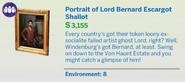 Portrait of Lord Bernard Escargot Shallot Description