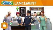 Les Sims 4 Au travail trailer officiel de lancement