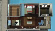Nossa Primeira Casa Flutuante, segundo andar