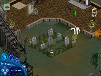 Puzzle de lápida Macabro