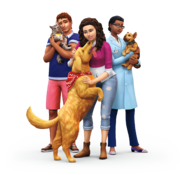 The Sims 4 Cats & Dogs Render 01