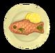Рыбный пирог с говядиной и курицей