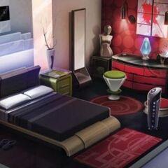 Boceto de una habitación