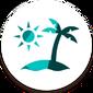 Icône Les Sims 4 Iles paradisiaques