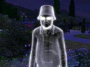 Lewis som spøkelse