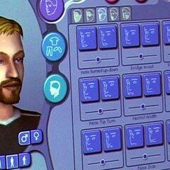 El peinado del hombre no se encuentra en el juego