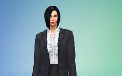 Bianca Black Sims 4