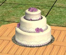 Elegant Violepan Cake