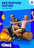 Packshot Les Sims 4 Destination Nature (V2)