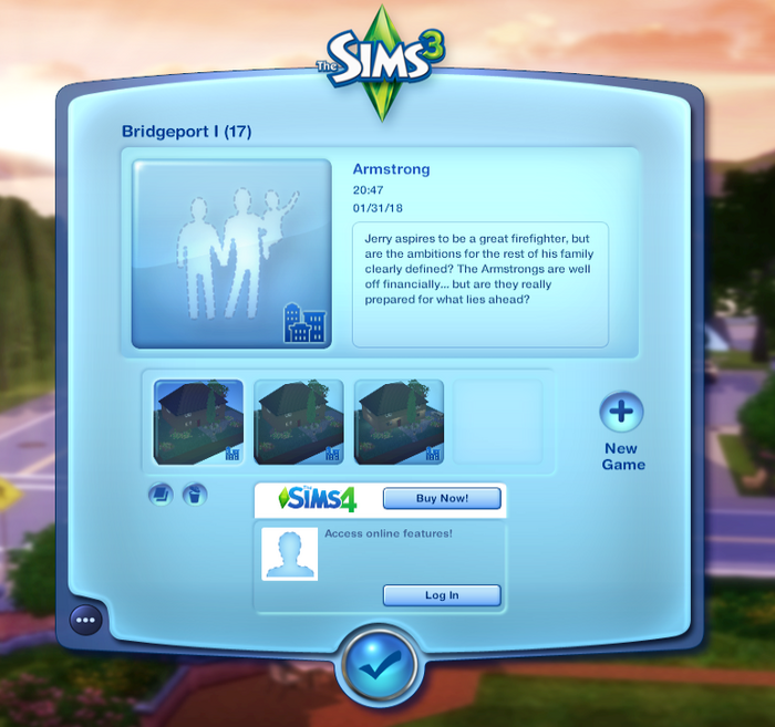 Game guide:Reducing the size of a saved game | The Sims Wiki