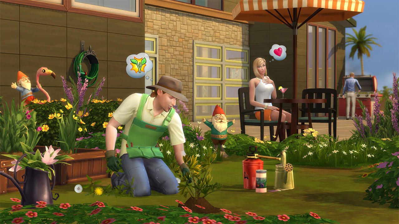 Gardener the sims wiki fandom powered by wikia for Mobilia para sims 4