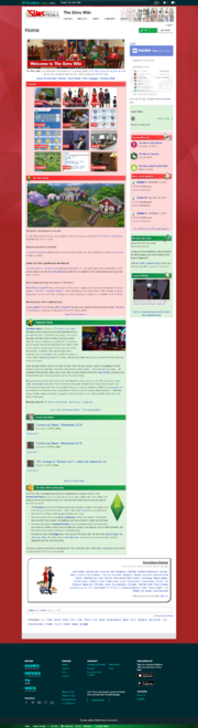 TSW Main Page Christmas theme 2018