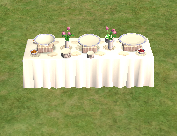 Buffet table | The Sims Wiki | FANDOM powered by Wikia