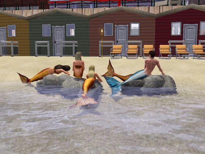 Игру Sims H2O-Просто Добавь Воды