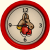The Official Fighting Llama Clock
