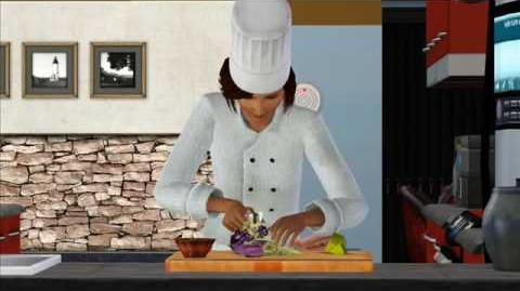 The Sims 3 Meet Saffron, clumsy chef-0