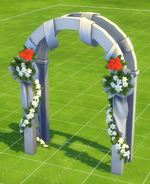 Daddy's Girl Formal Wedding Arch