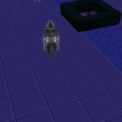 Fantasma de la maldición de la momia.