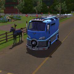 Transporte para caballos