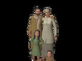 Семья Амин (четыре персонажа)