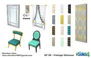 Les Sims 4 Accessoires Vintage Concept Christina Chan 2
