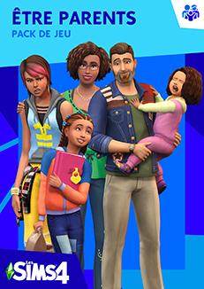 Packshot Les Sims 4 Être parents (V2)