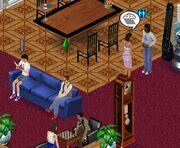 Sims dans Les Sims