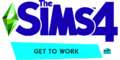 The Sims 4 Get to Work Logo